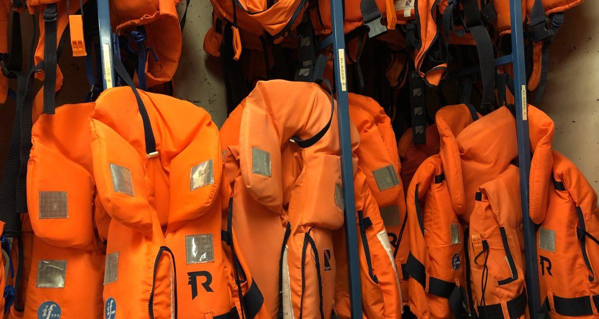 Utleie av redningsvester