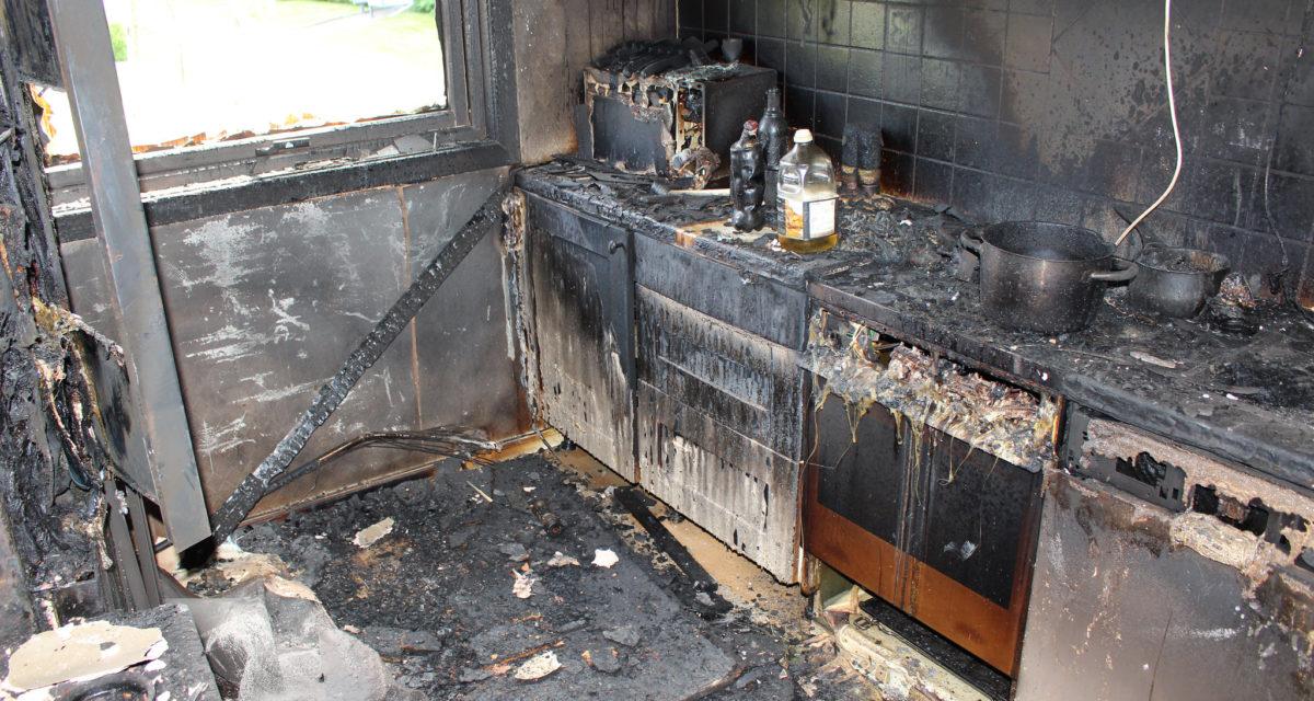 Antall branner på koketoppen gikk ned i 2020