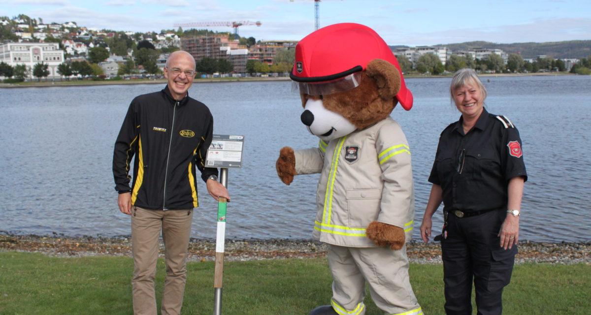 Nå kan du jakte på brannvernstolper i Drammen!